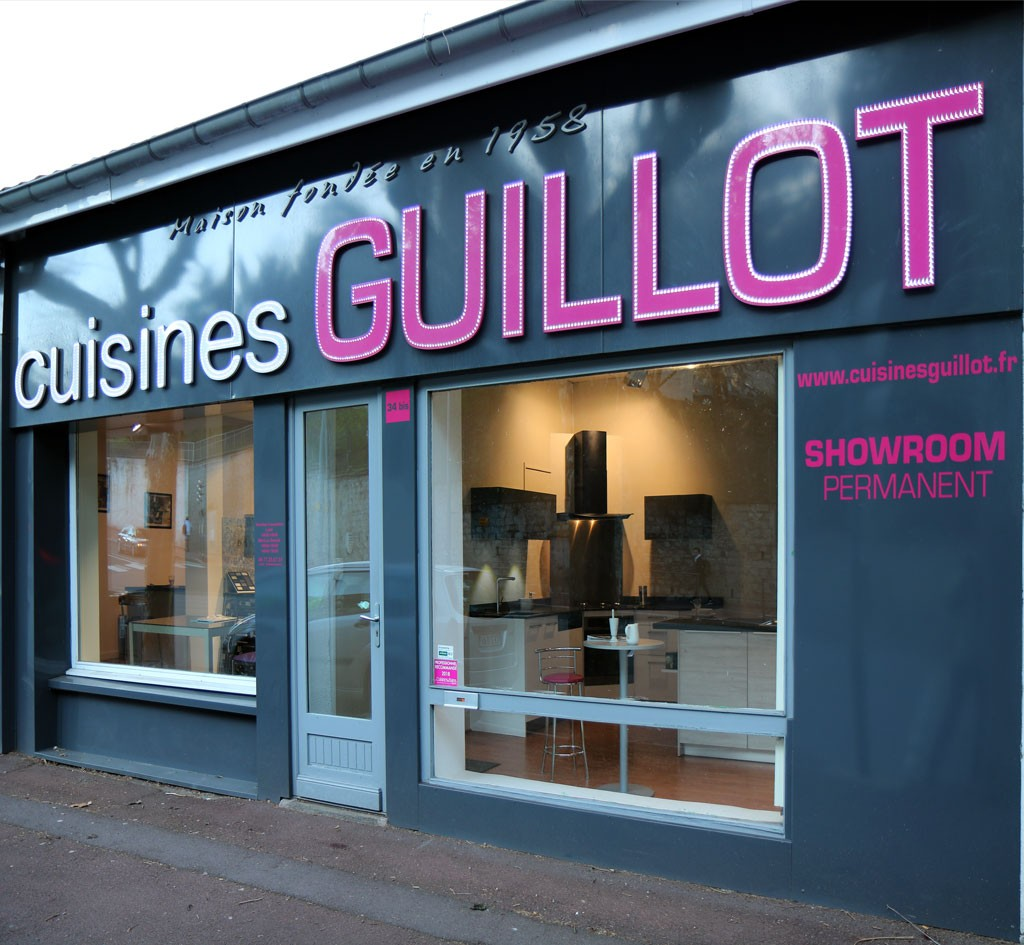 Cuisines Guillot, le magasin
